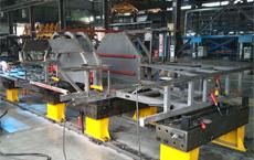 三威柔性焊接工装在株洲南车时代的应用
