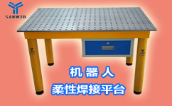 东莞三威装备机器人焊接平台销售代理