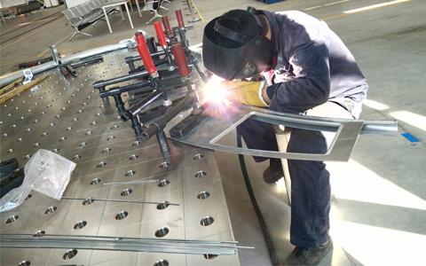 不锈钢三维柔性焊接工装平台